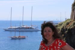 Hilary in Lipari
