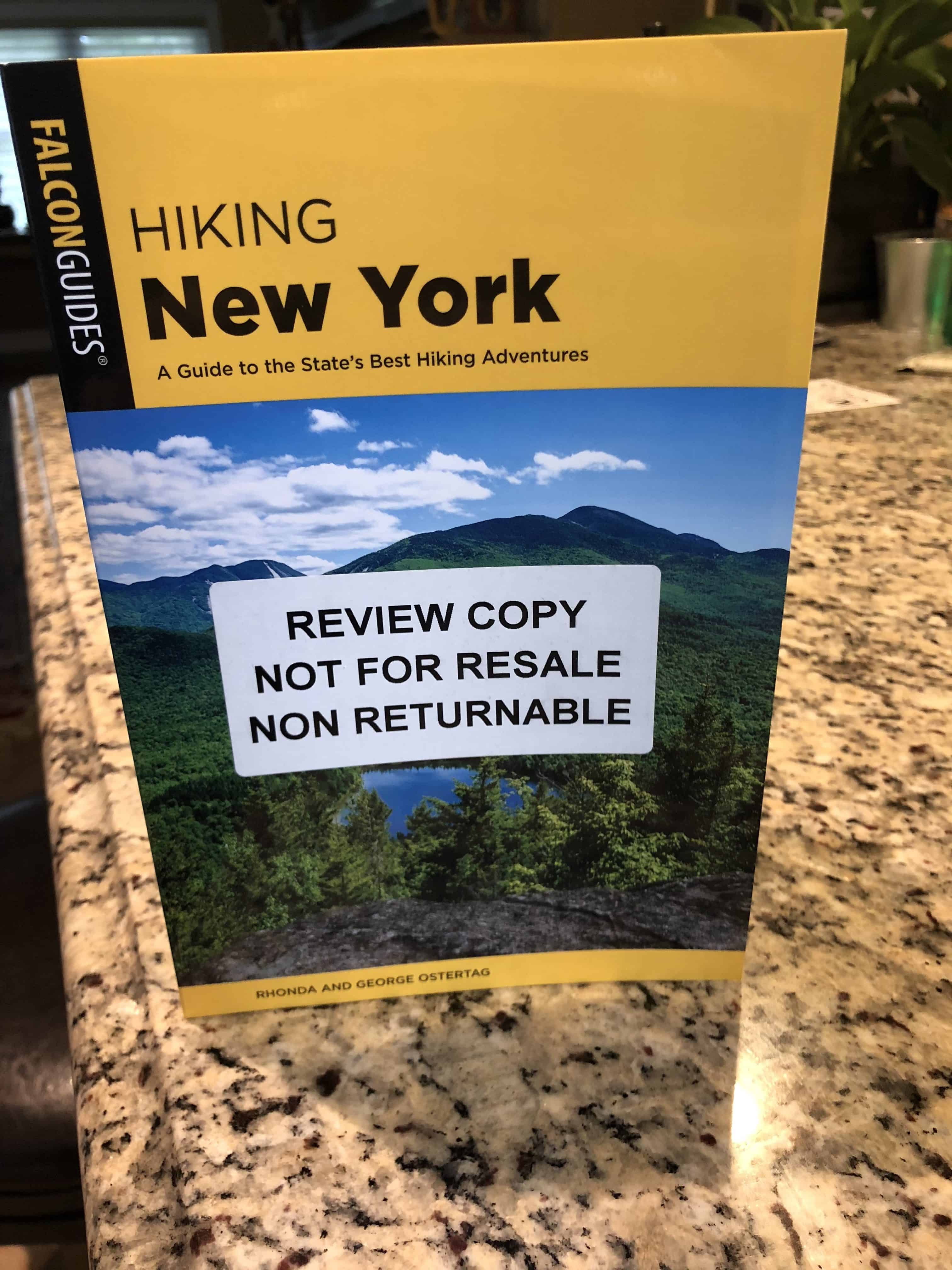 Hiking New York - A Guide to the State's Best Hiking Adventures book