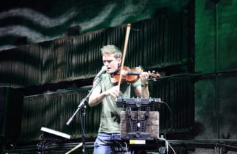 AJ Smith on Violin