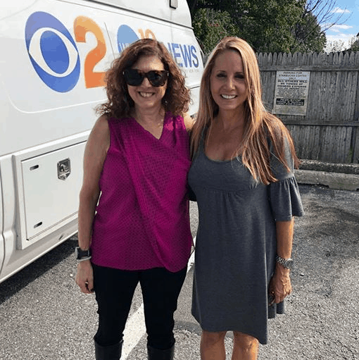 Hilary and Carolyn Gusoff of WCBS-TV